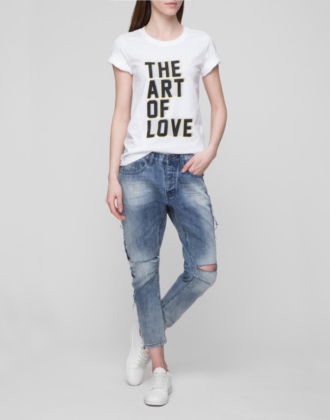 Женские голубые джинсы Oneteaspoon S20051-5