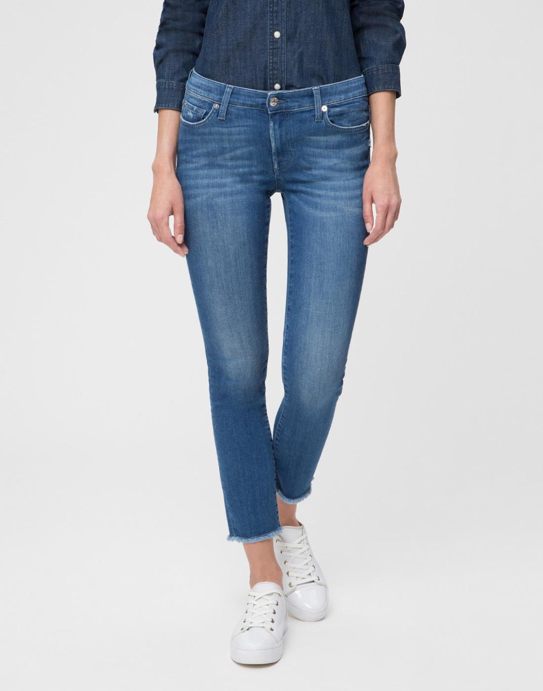 Женские синие джинсы 7 FAM S4U800WQ-2