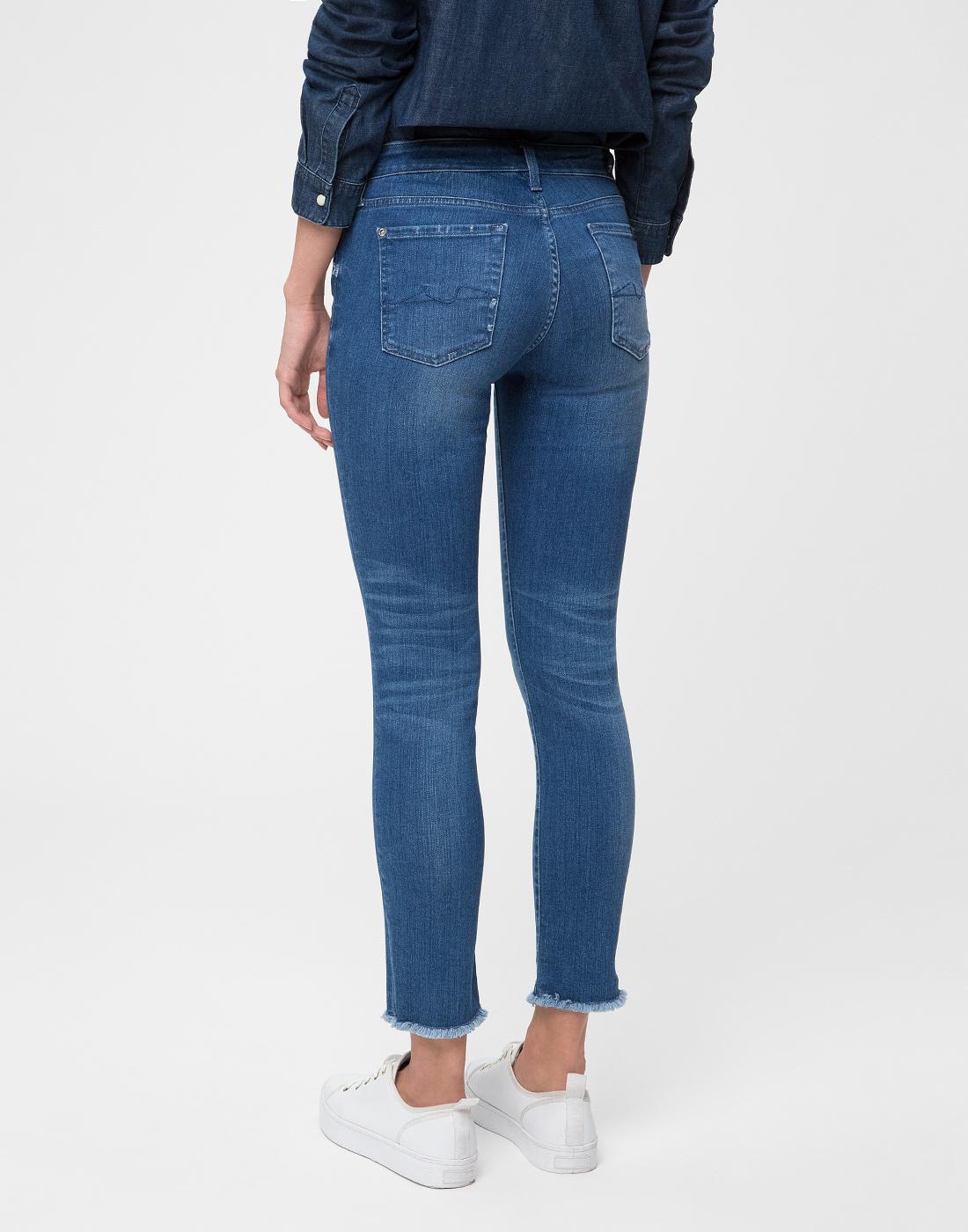 Женские синие джинсы 7 FAM S4U800WQ-4
