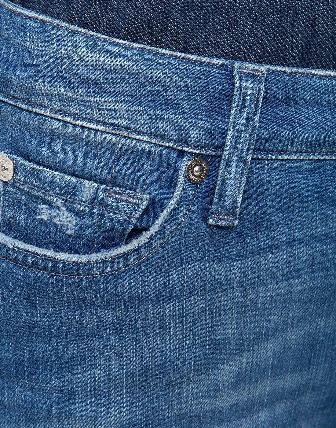 Женские синие джинсы 7 FAM S4U800WQ-6