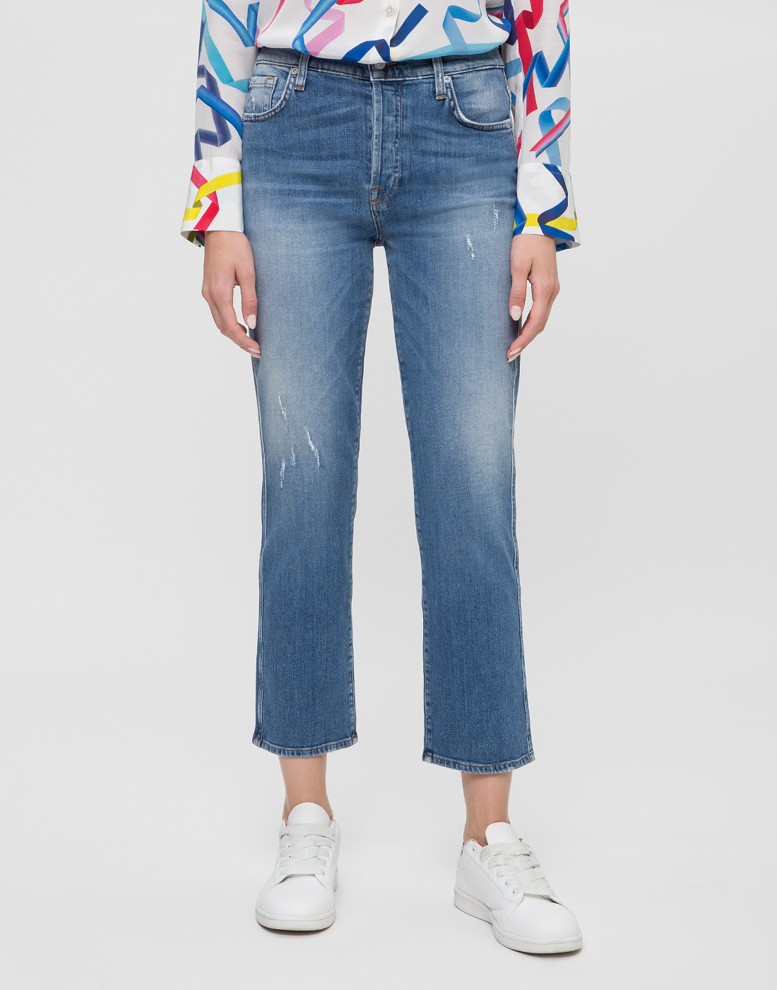 Женские синие джинсы 7 FAM S2L540VO-2