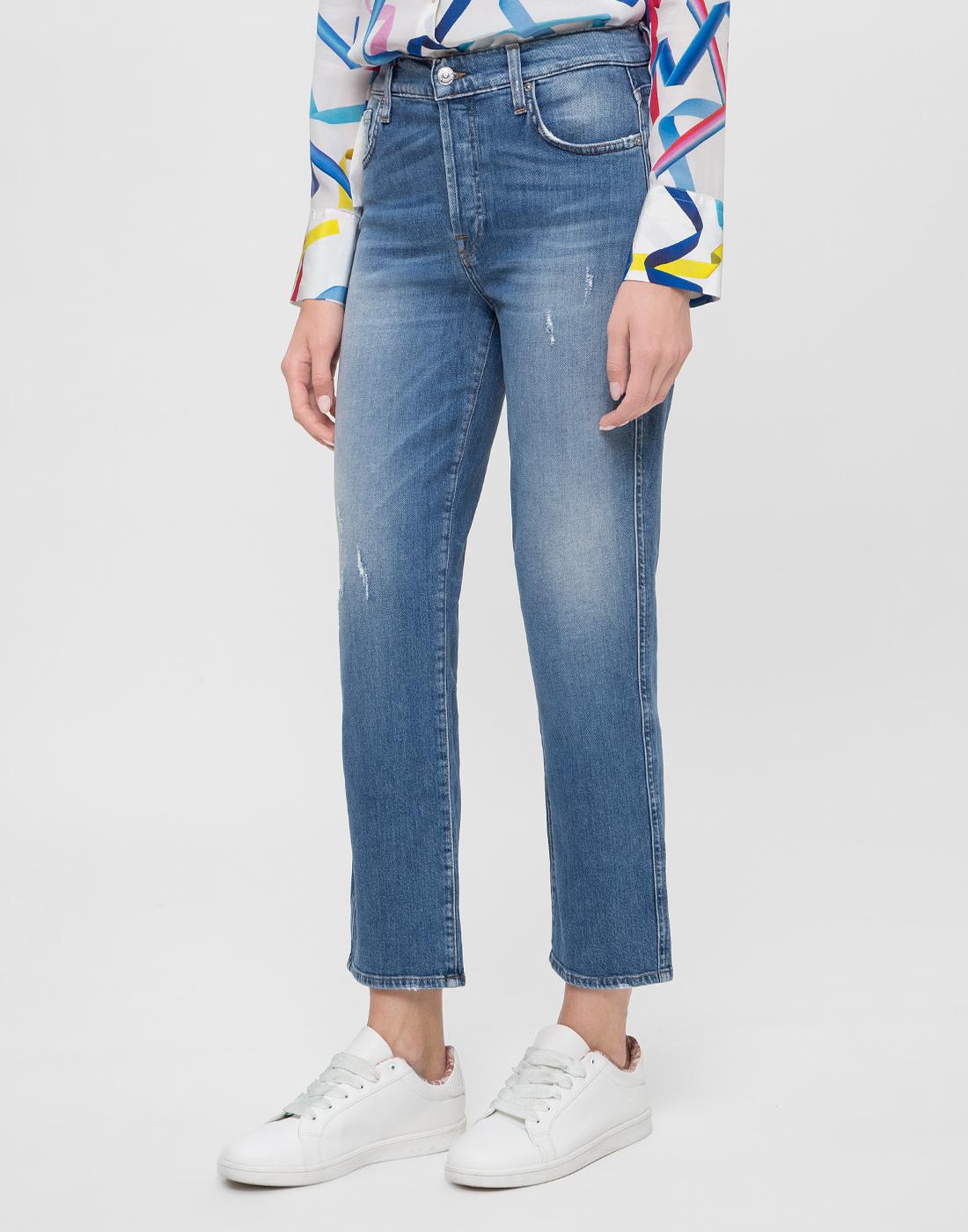 Женские синие джинсы 7 FAM S2L540VO-3