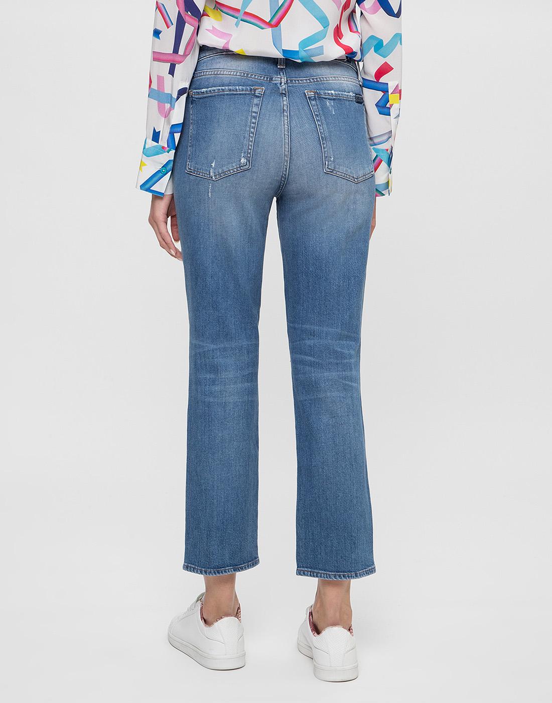 Женские синие джинсы 7 FAM S2L540VO-4