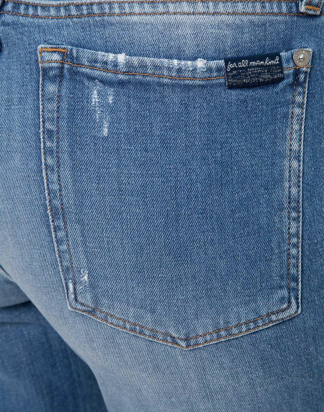 Женские синие джинсы 7 FAM S2L540VO-6