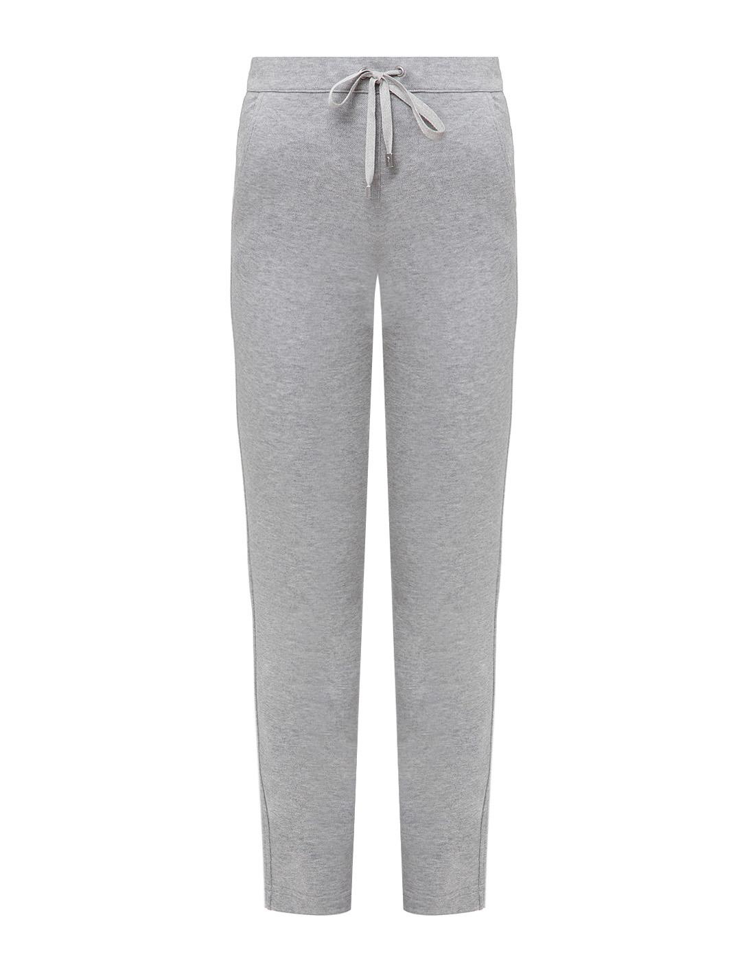 Женские серые спортивные брюки Capobianco S4W722.GEXO-1
