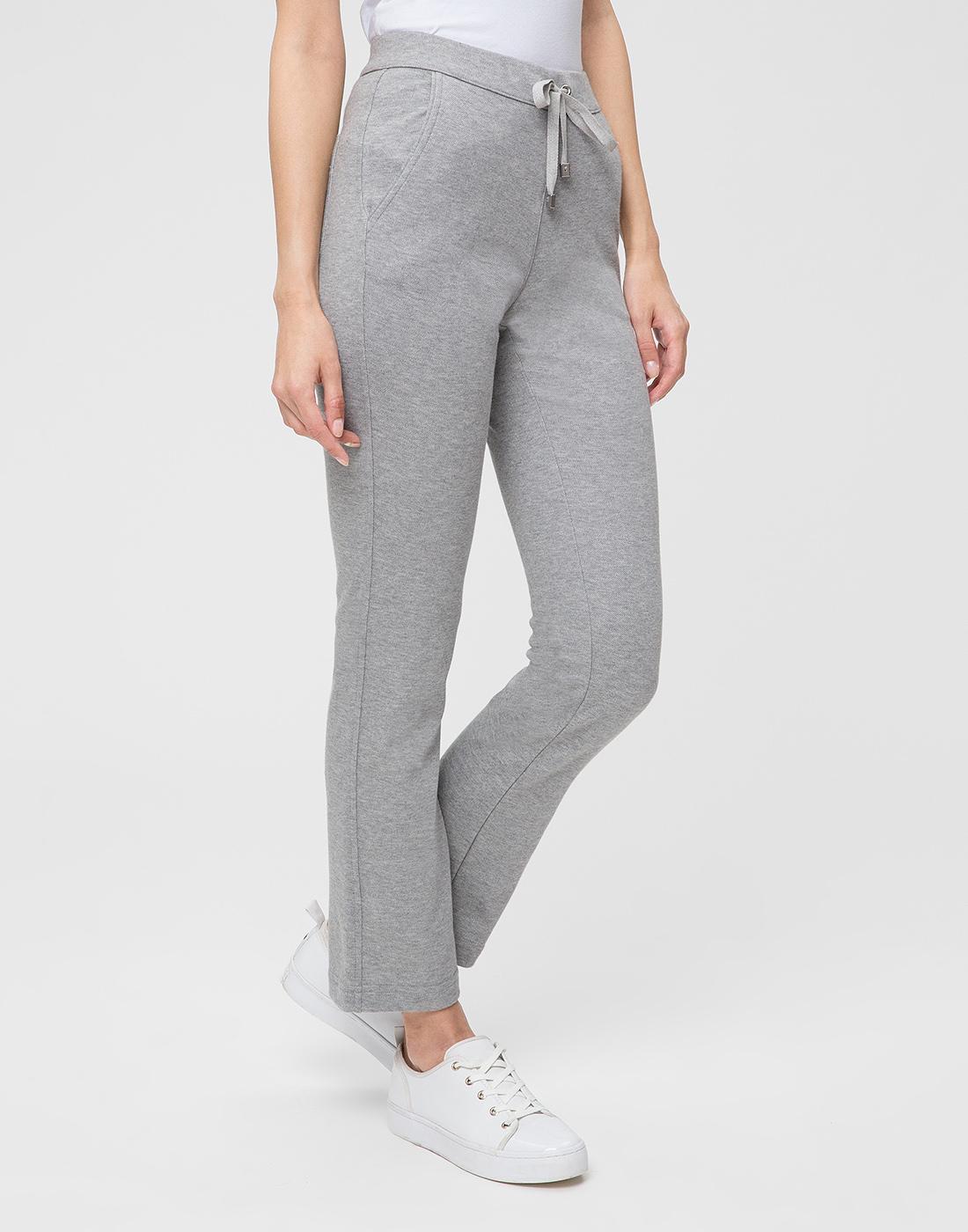 Женские серые спортивные брюки Capobianco S4W722.GEXO-3