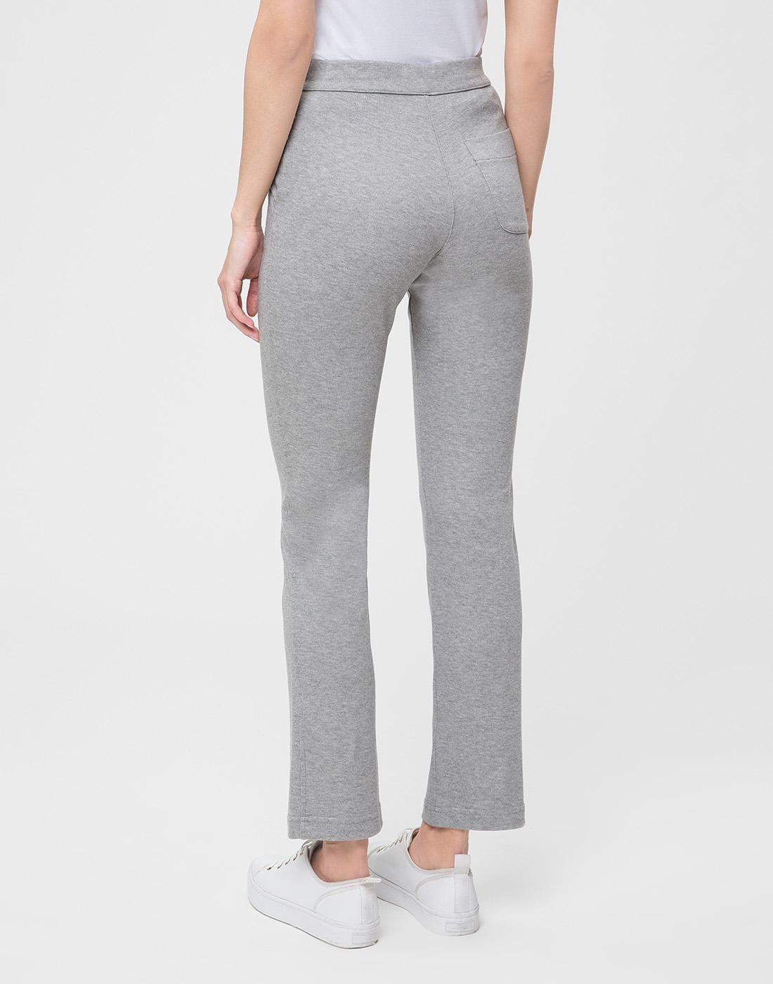 Женские серые спортивные брюки Capobianco S4W722.GEXO-4