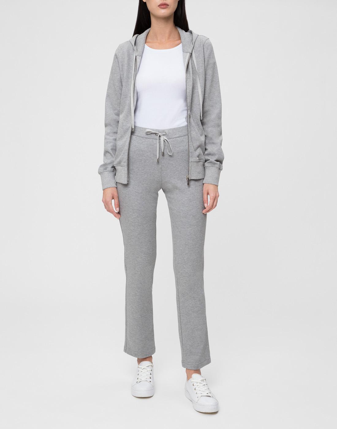 Женские серые спортивные брюки Capobianco S4W722.GEXO-5