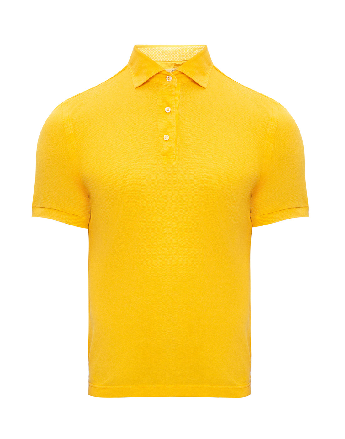 Мужское желтое поло Della Ciana S43305L/37715-1