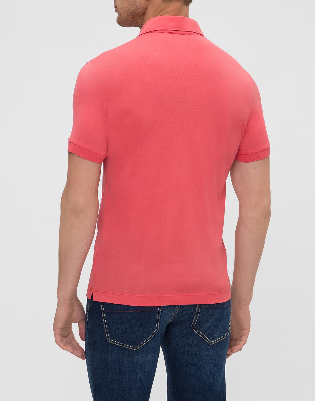 Мужское розовое поло Della Ciana S54101/28345-4