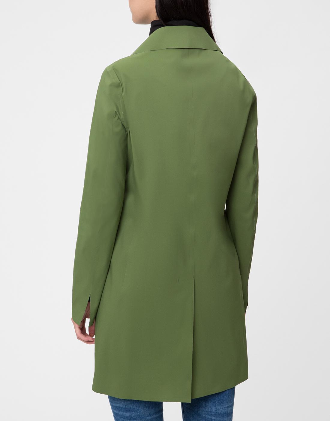 Женский зеленый плащ Herno SIM0035D-19289-7012-4