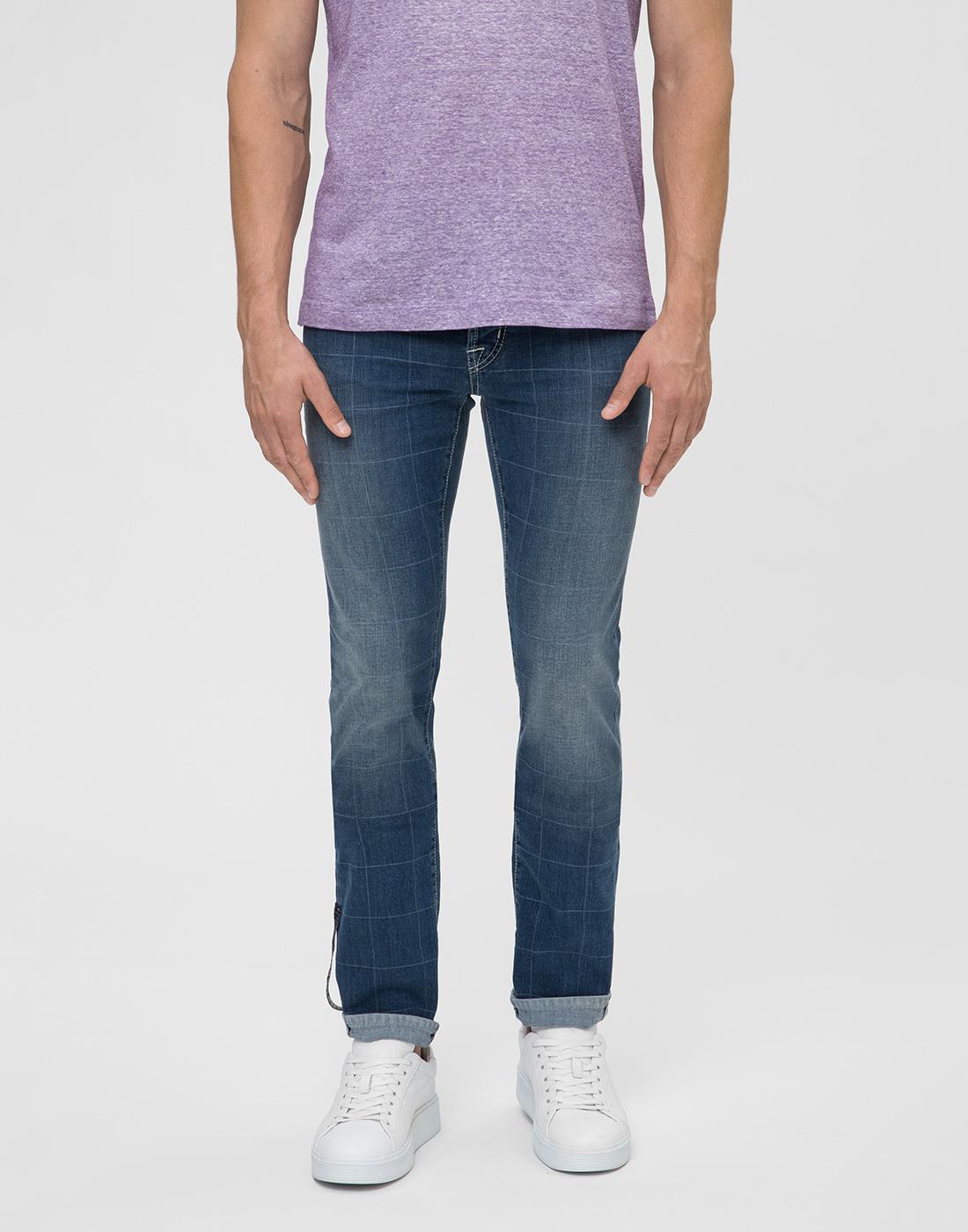 Мужские синие джинсы Leonardo Tramarossa SD361 L2-2