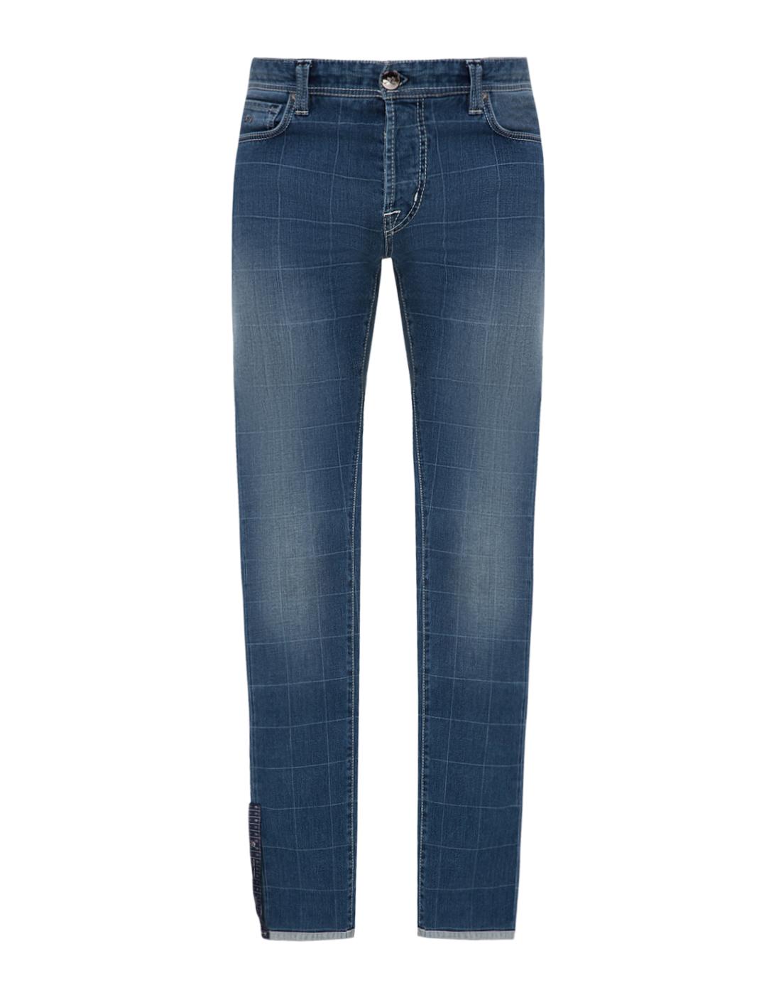Мужские синие джинсы Leonardo Tramarossa SD361 L2-1