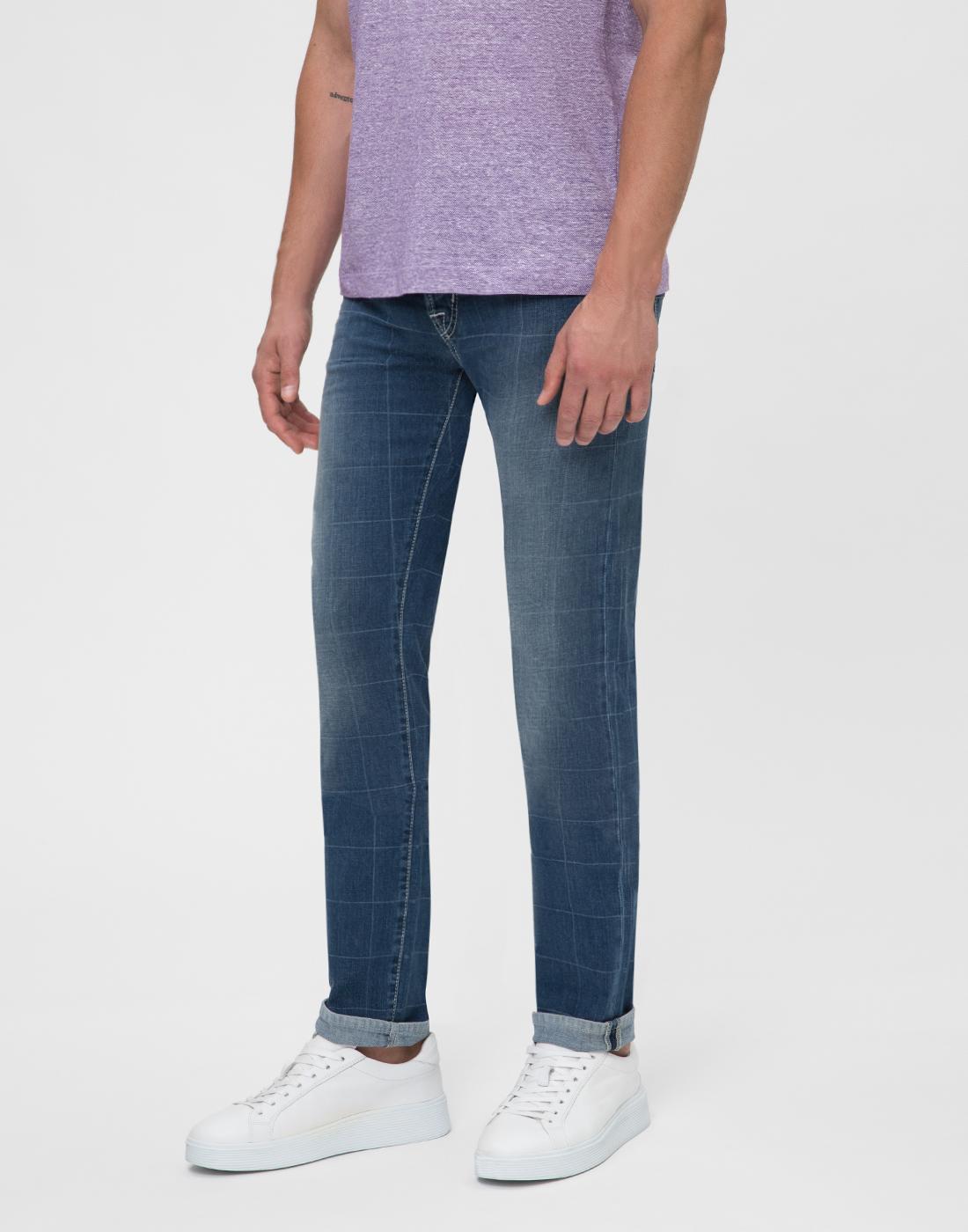 Мужские синие джинсы Leonardo Tramarossa SD361 L2-3