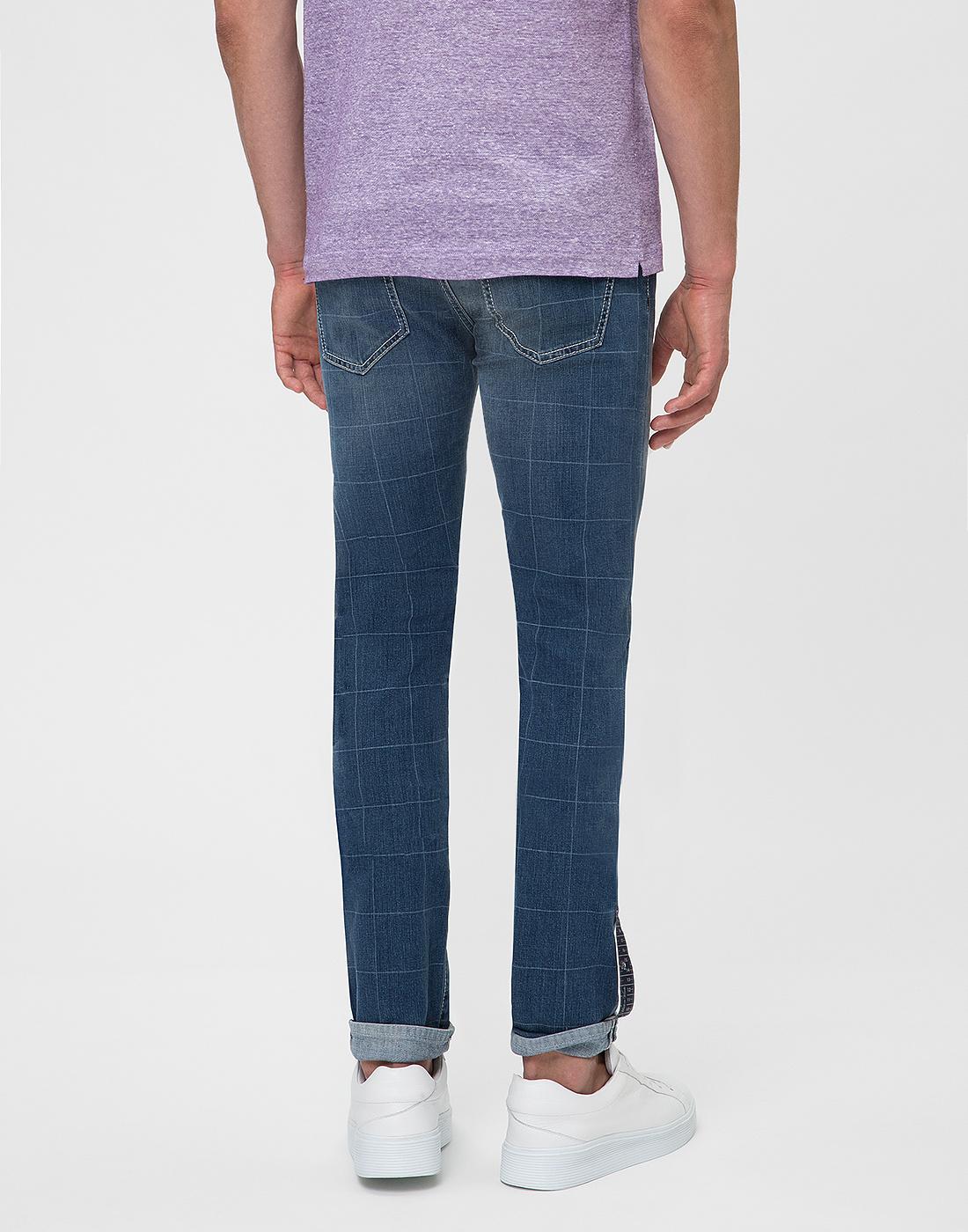 Мужские синие джинсы Leonardo Tramarossa SD361 L2-5