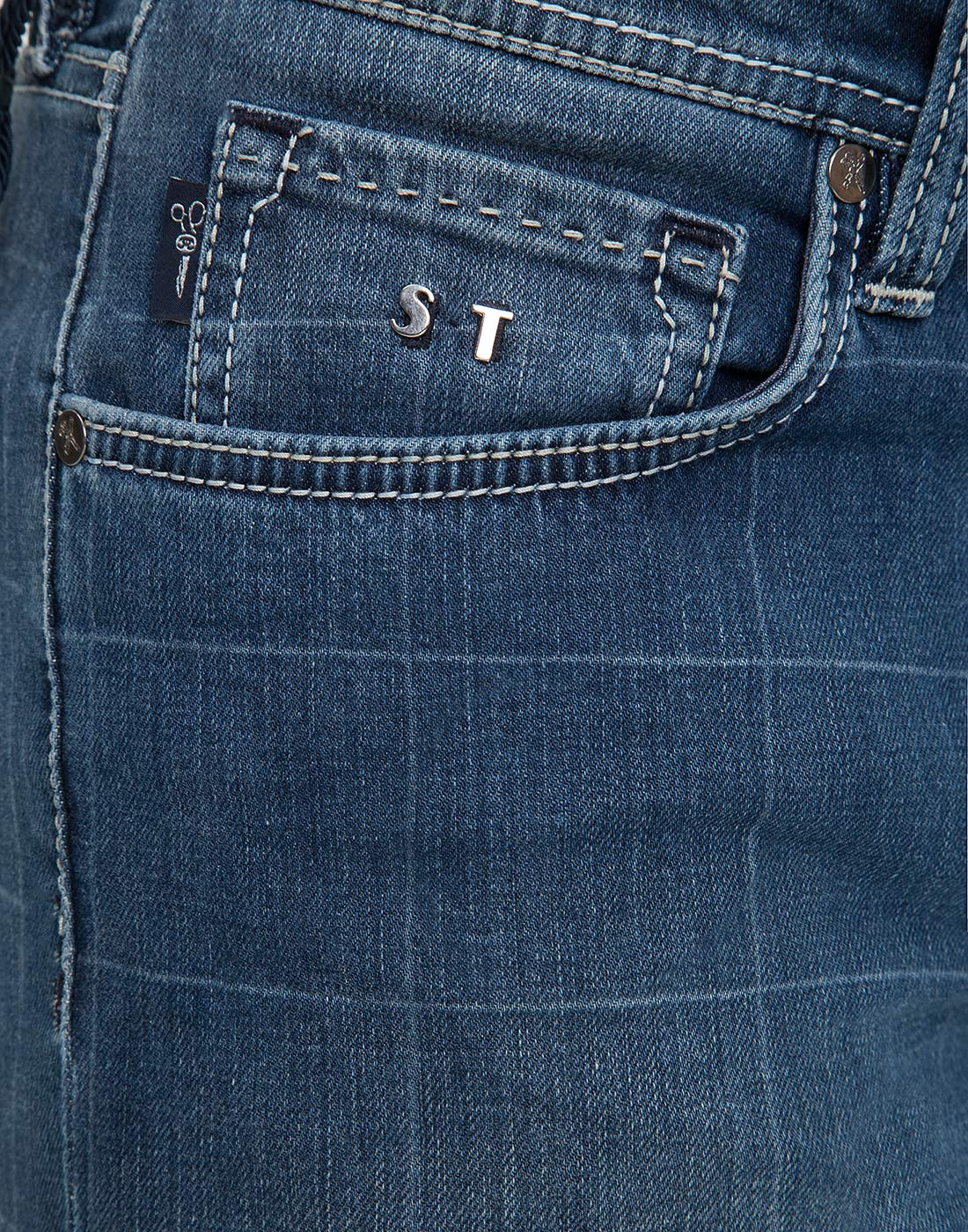 Мужские синие джинсы Leonardo Tramarossa SD361 L2-7