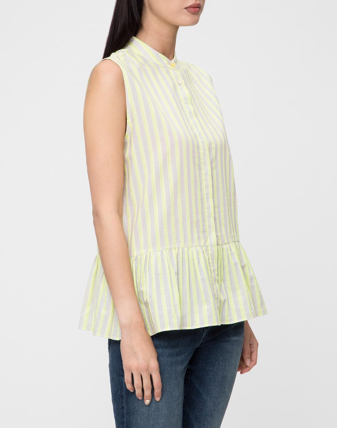 Женская блуза в полоску Paul Smith S095M/864-3