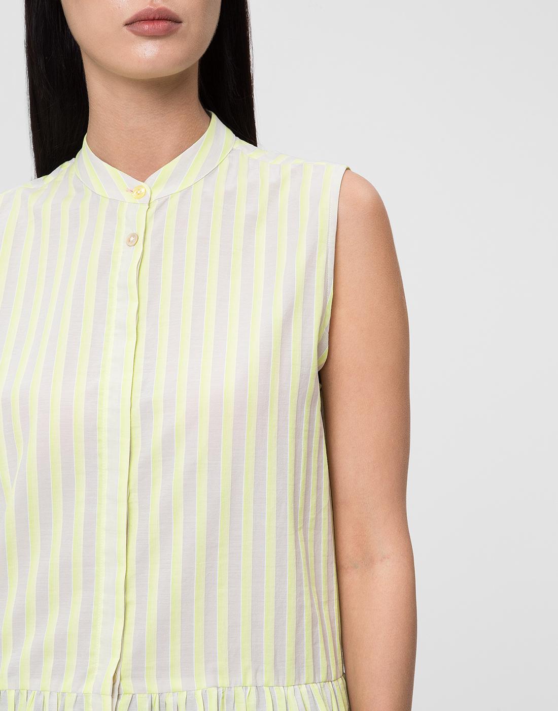 Женская блуза в полоску Paul Smith S095M/864-6