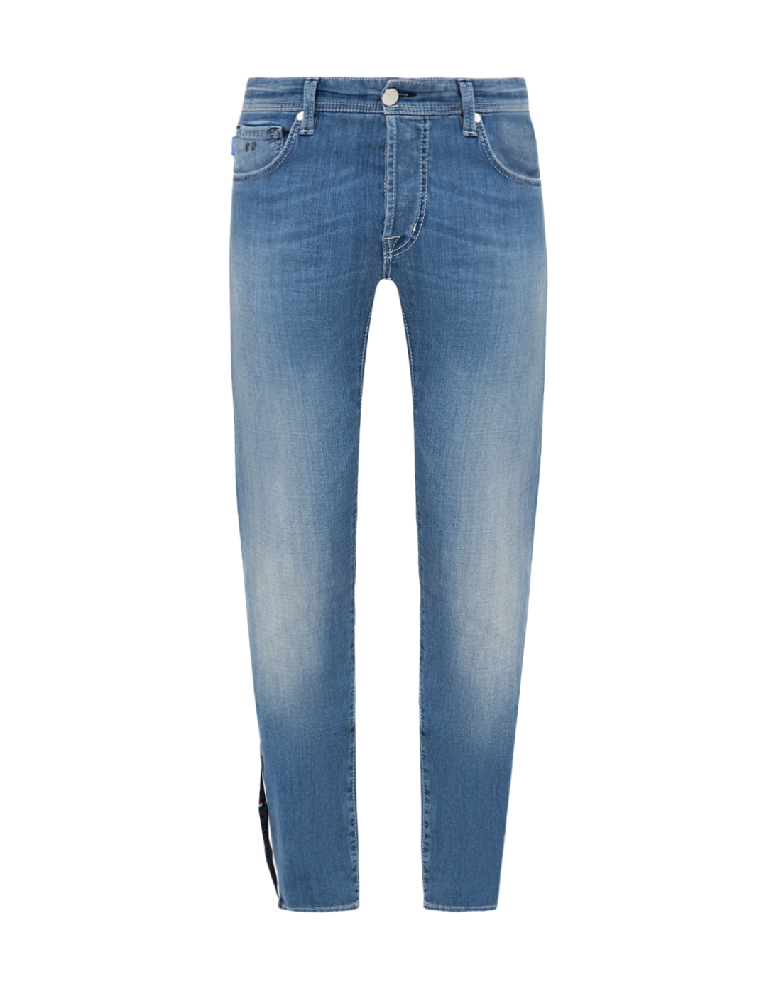 Мужские голубые джинсы Leonardo