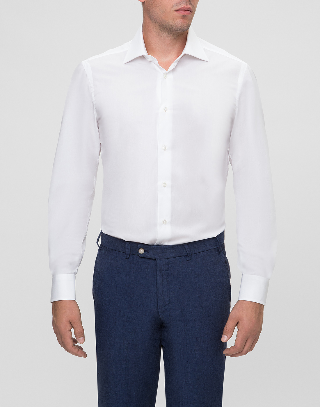 Мужская белая рубашка Barba SD2U634540301U-2