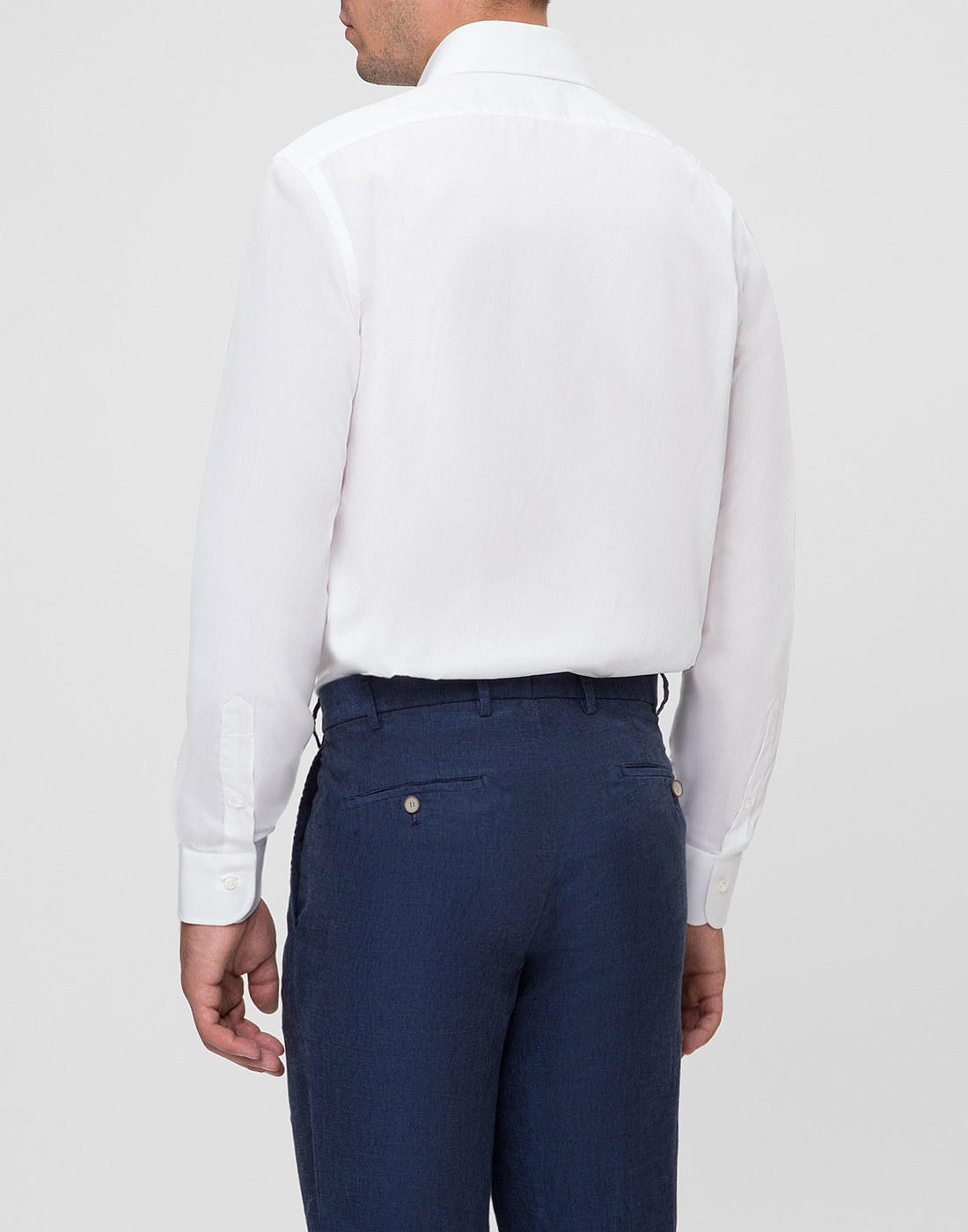 Мужская белая рубашка Barba SD2U634540301U-4