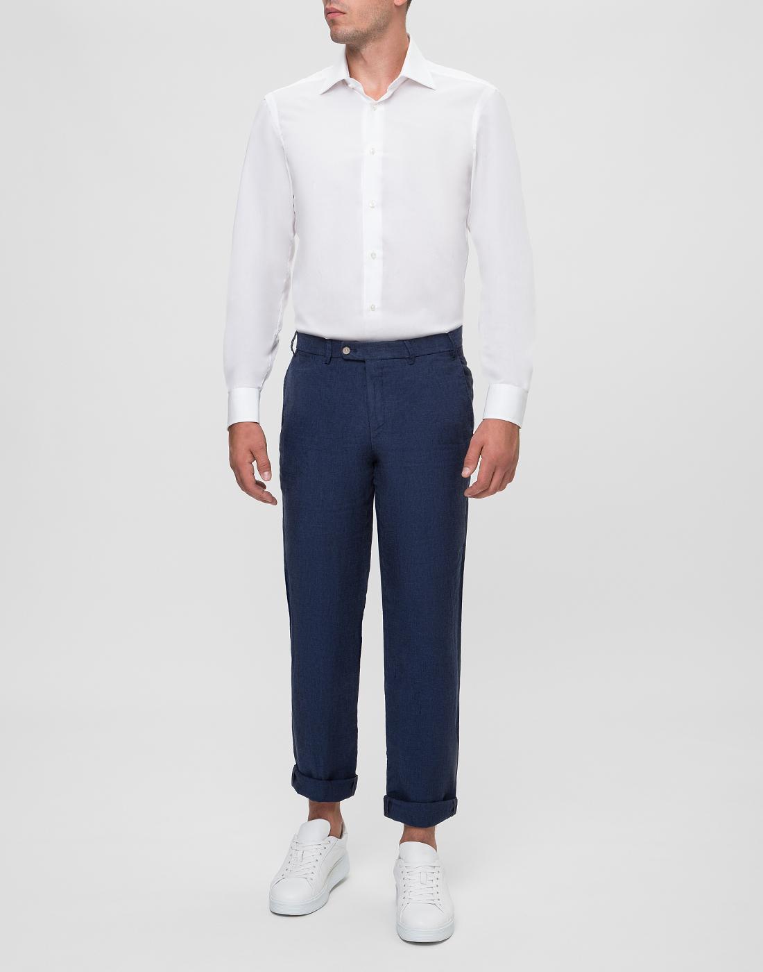 Мужская белая рубашка Barba SD2U634540301U-5