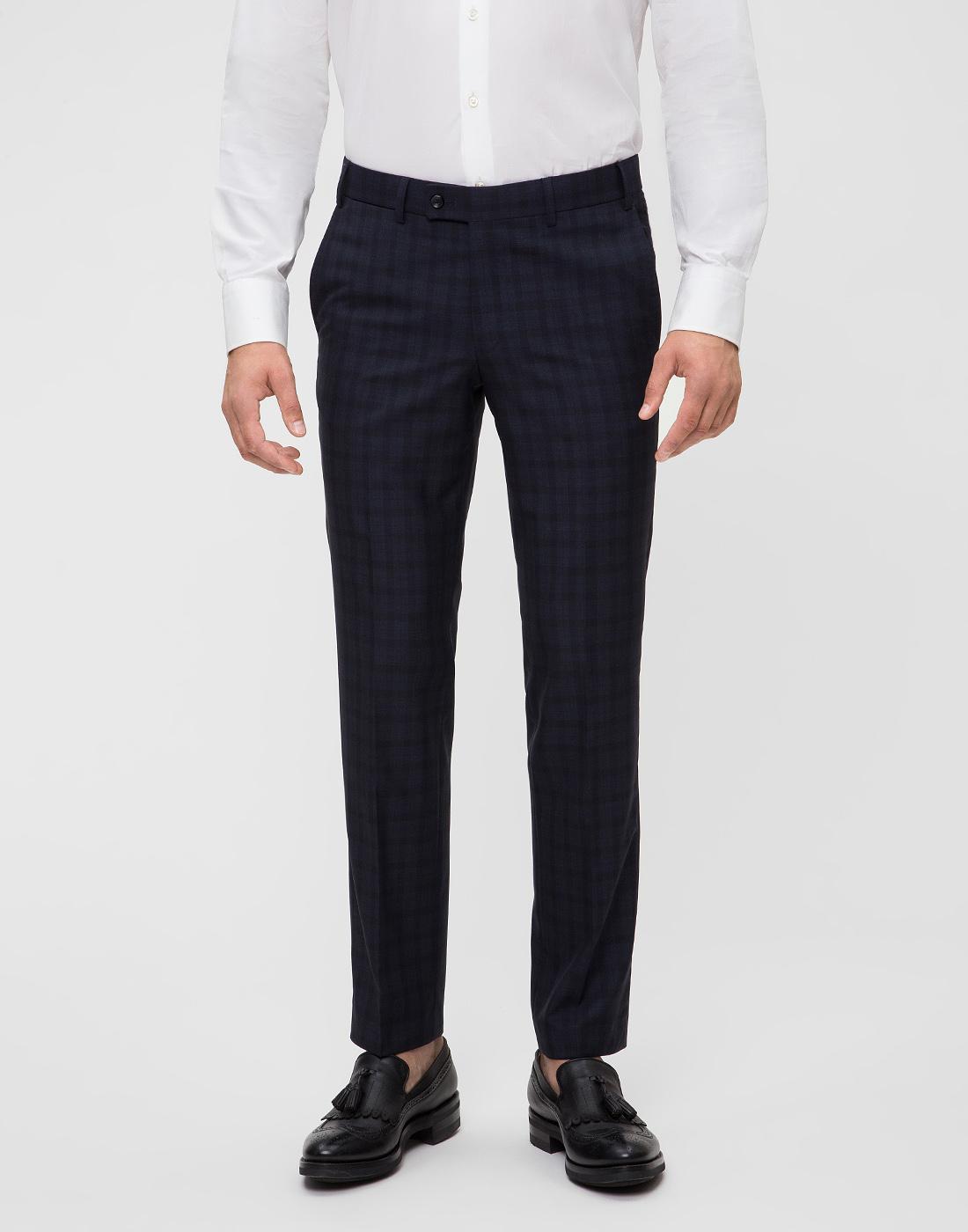 Мужские темно-синие брюки Hiltl  S13173 40 34600-2