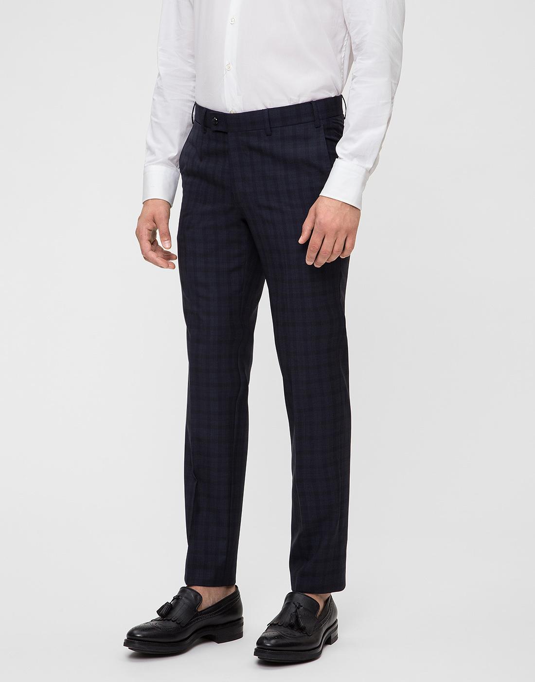 Мужские темно-синие брюки Hiltl  S13173 40 34600-3