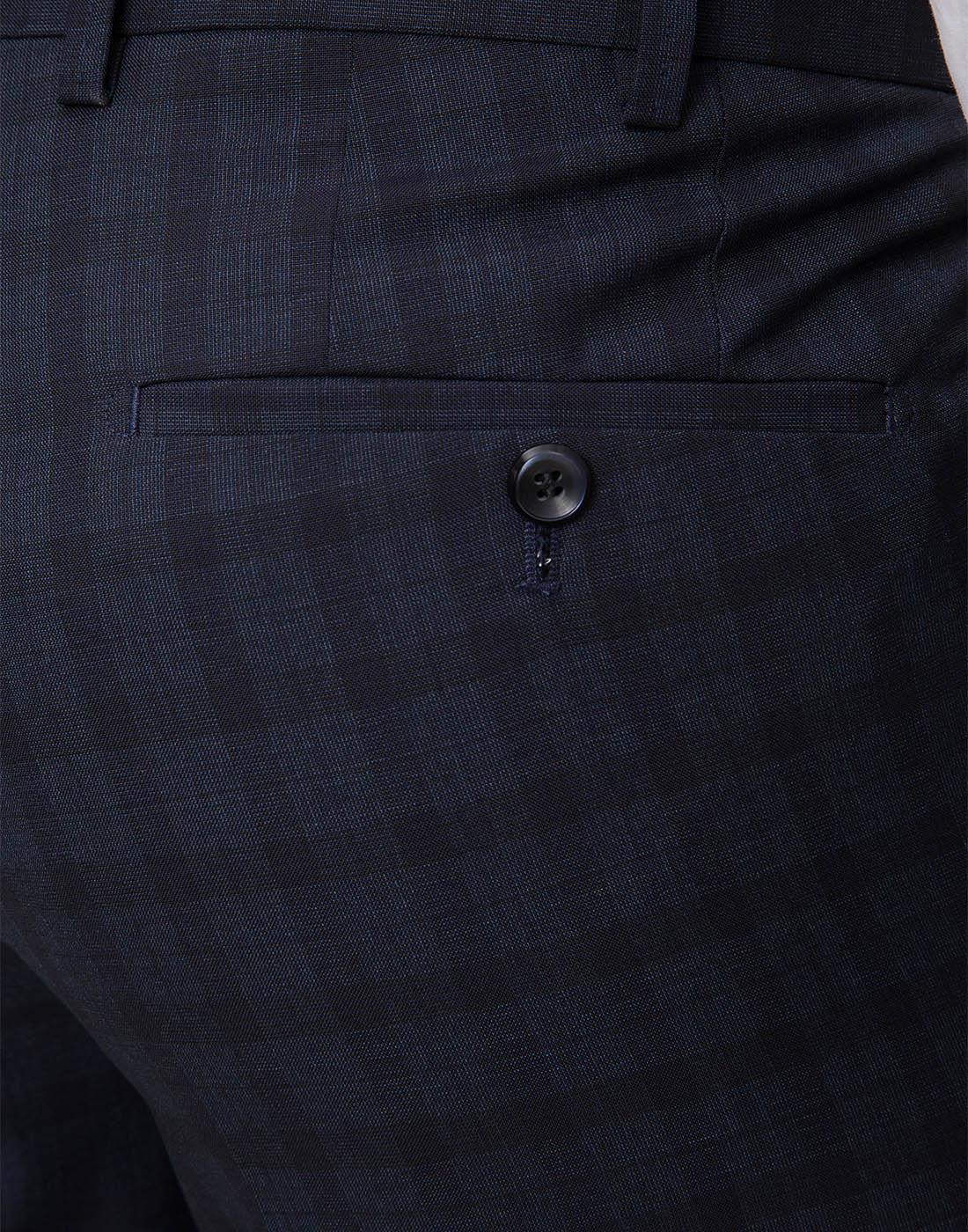 Мужские темно-синие брюки Hiltl  S13173 40 34600-5