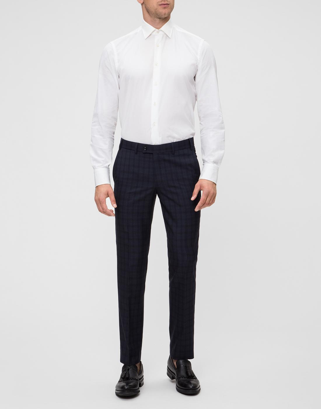 Мужские темно-синие брюки Hiltl  S13173 40 34600-6