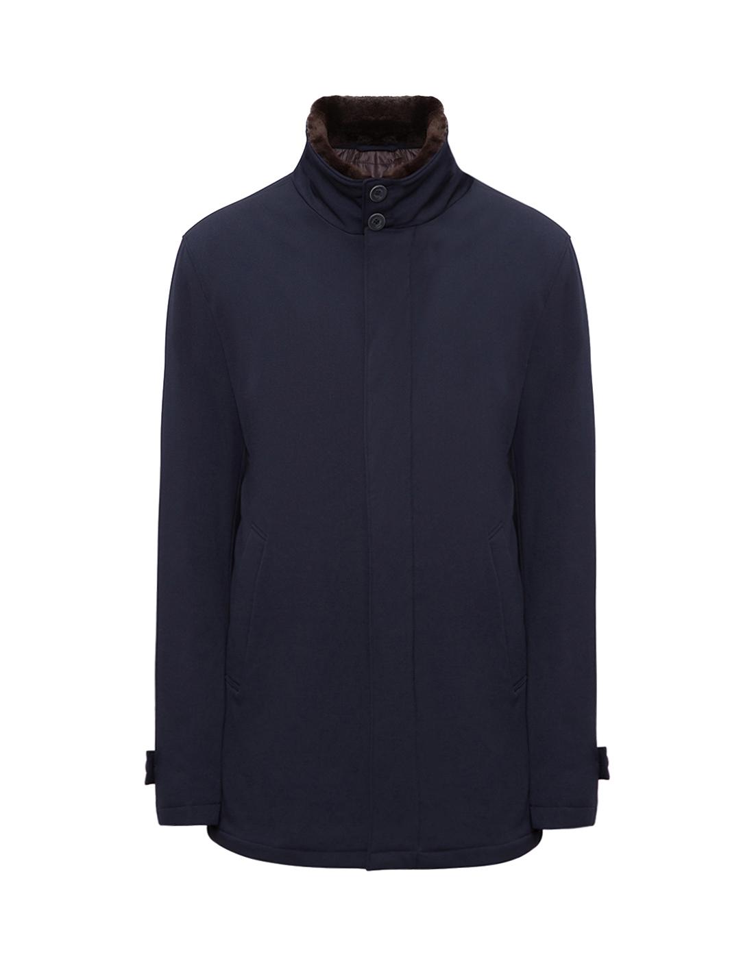 Мужская темно-синяя куртка Herno SCA0077U-1