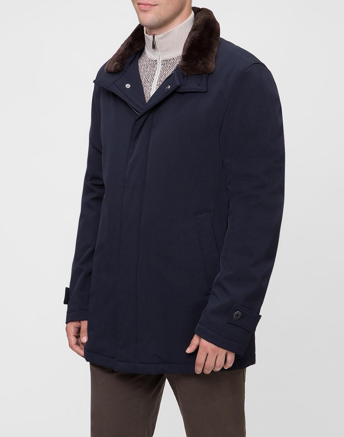 Мужская темно-синяя куртка Herno SCA0077U-3