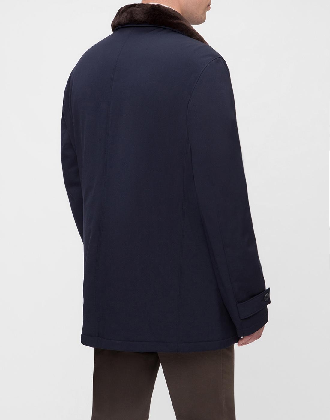 Мужская темно-синяя куртка Herno SCA0077U-4