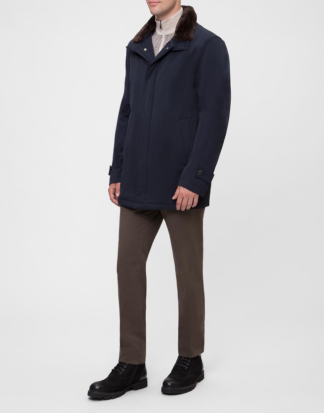 Мужская темно-синяя куртка Herno SCA0077U-5