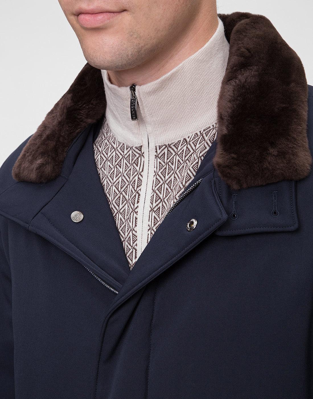 Мужская темно-синяя куртка Herno SCA0077U-6