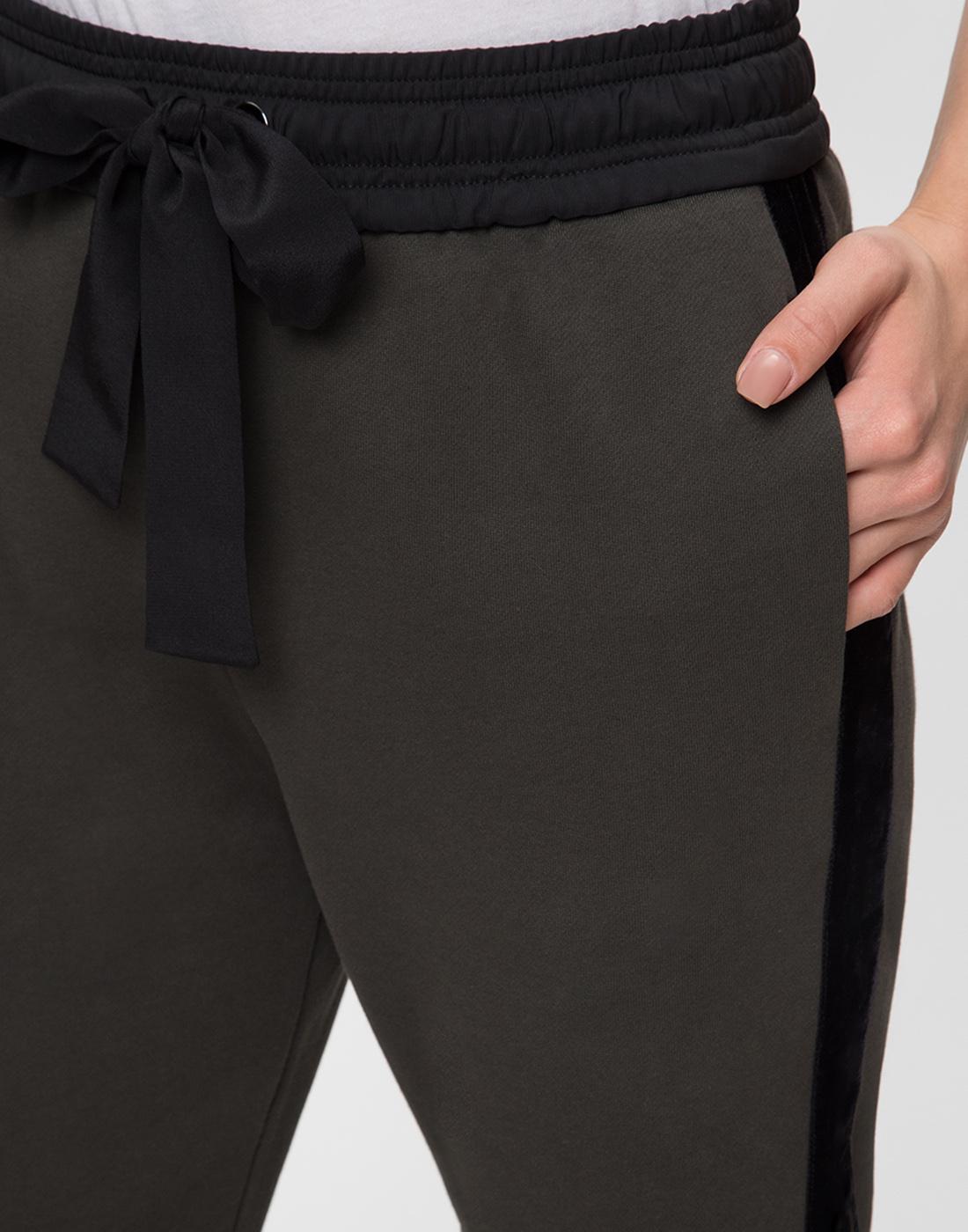 Женские зеленые брюки Dorothee Schumacher S128002-6