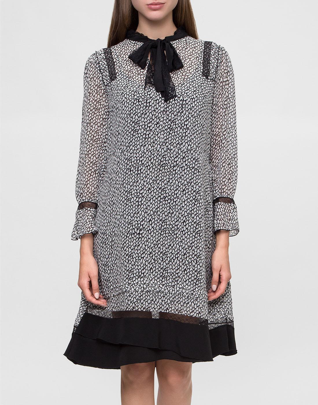 Женское серое платье Dorothee Schumacher S147301-2