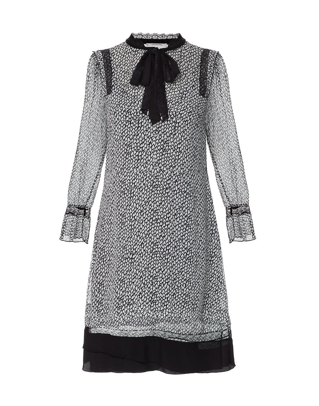 Женское серое платье Dorothee Schumacher S147301-1