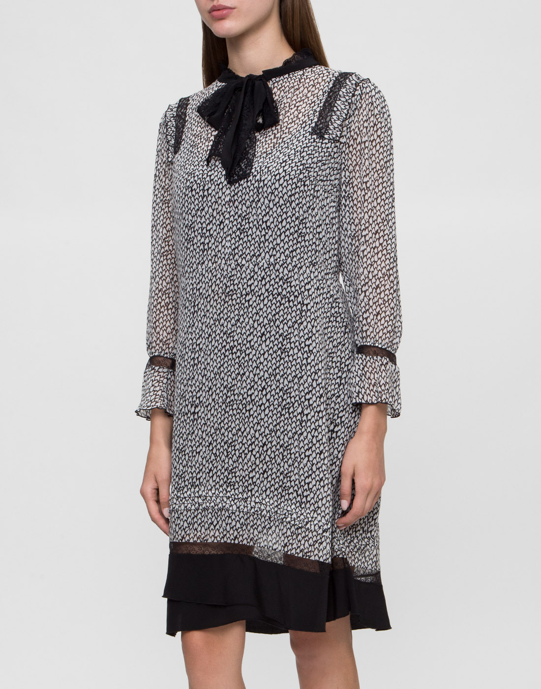 Женское серое платье Dorothee Schumacher S147301-3
