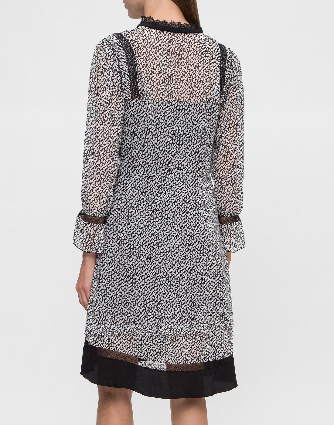 Женское серое платье Dorothee Schumacher S147301-4