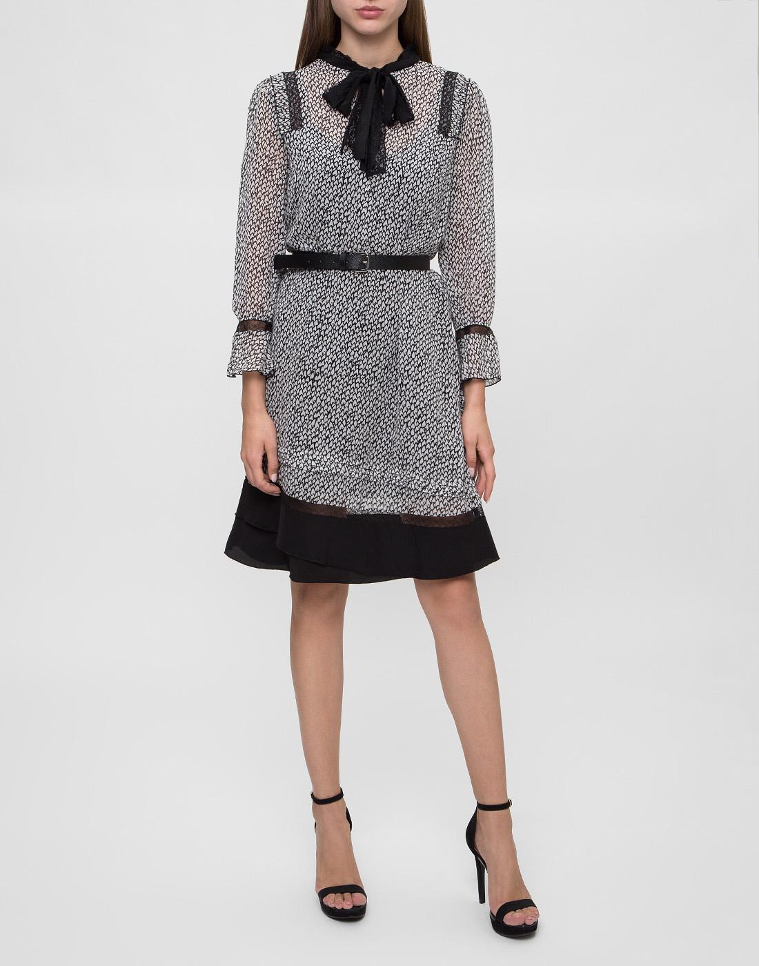 Женское серое платье Dorothee Schumacher S147301-5