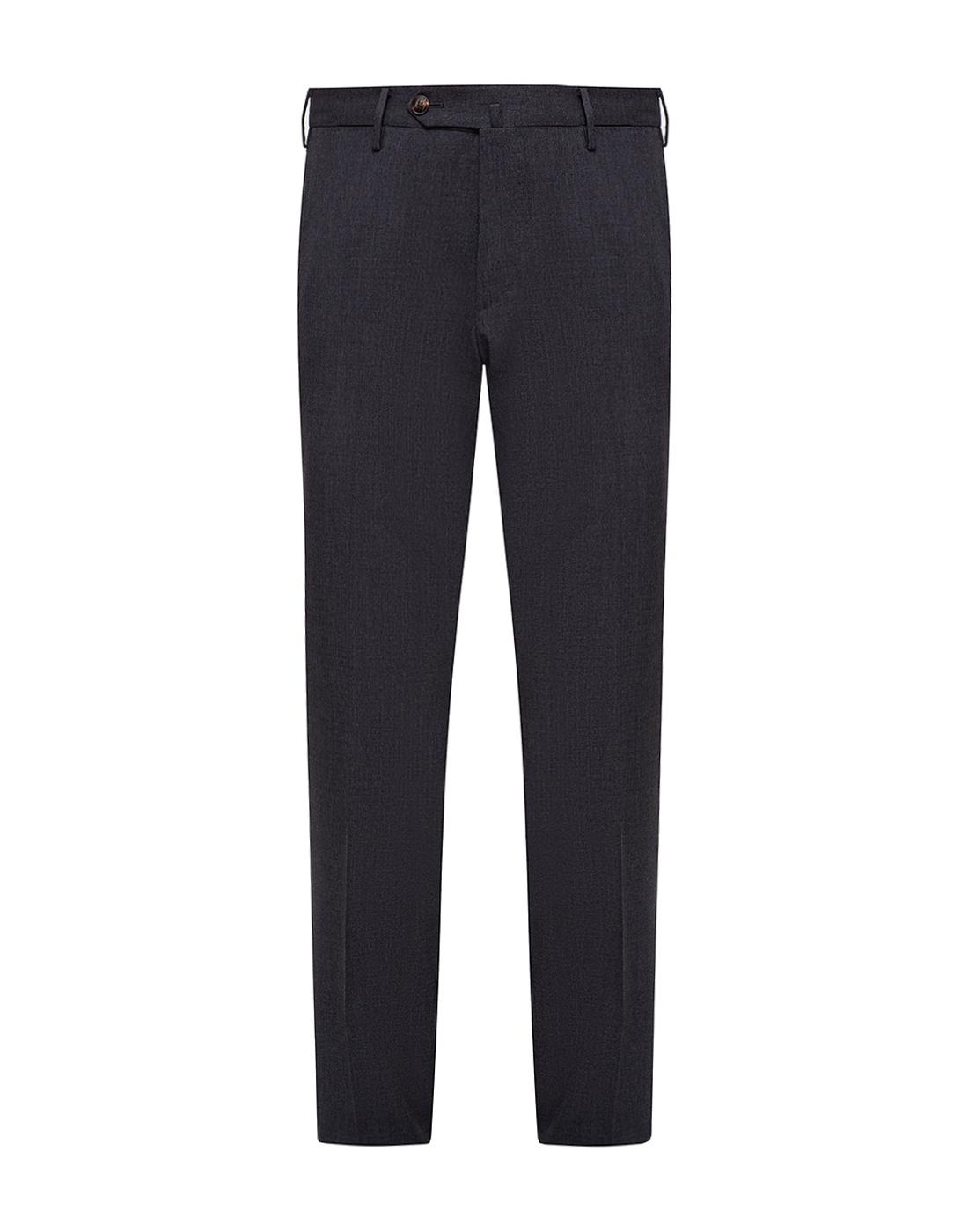 Мужские серые шерстяные брюки PT STO28 0240-1