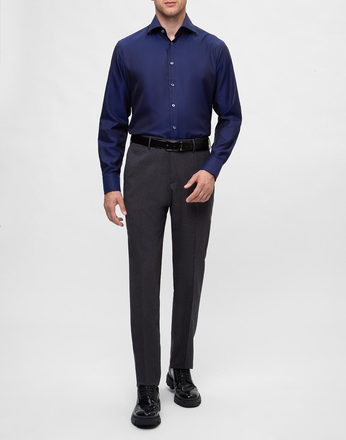 Мужские серые шерстяные брюки PT STO28 0240-5