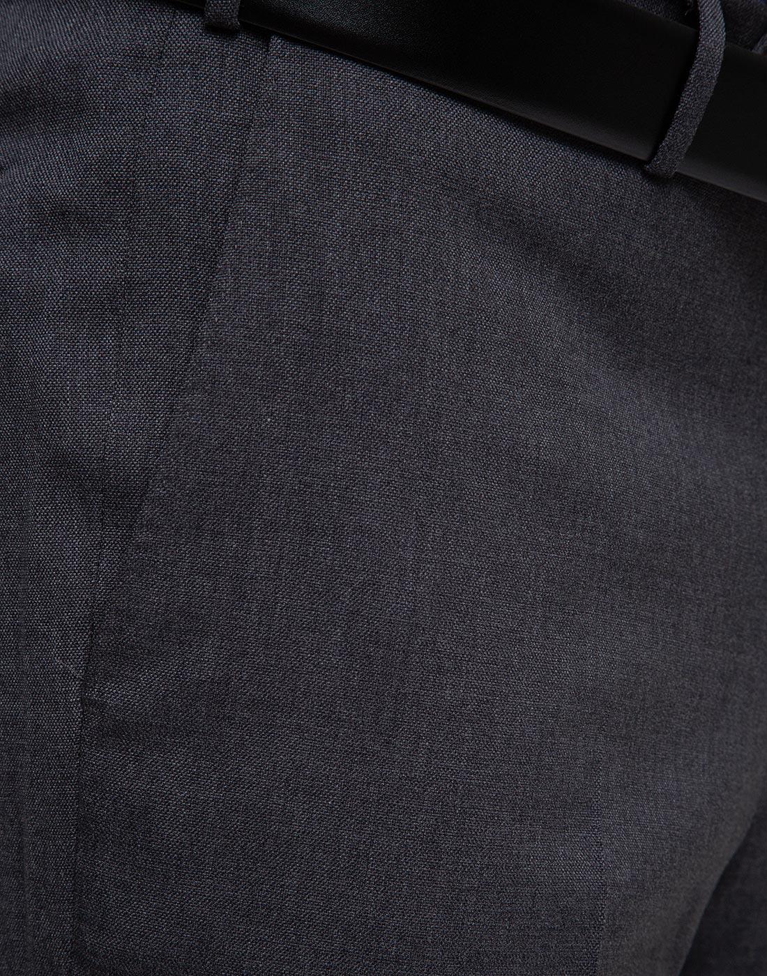Мужские серые шерстяные брюки PT STO28 0240-6