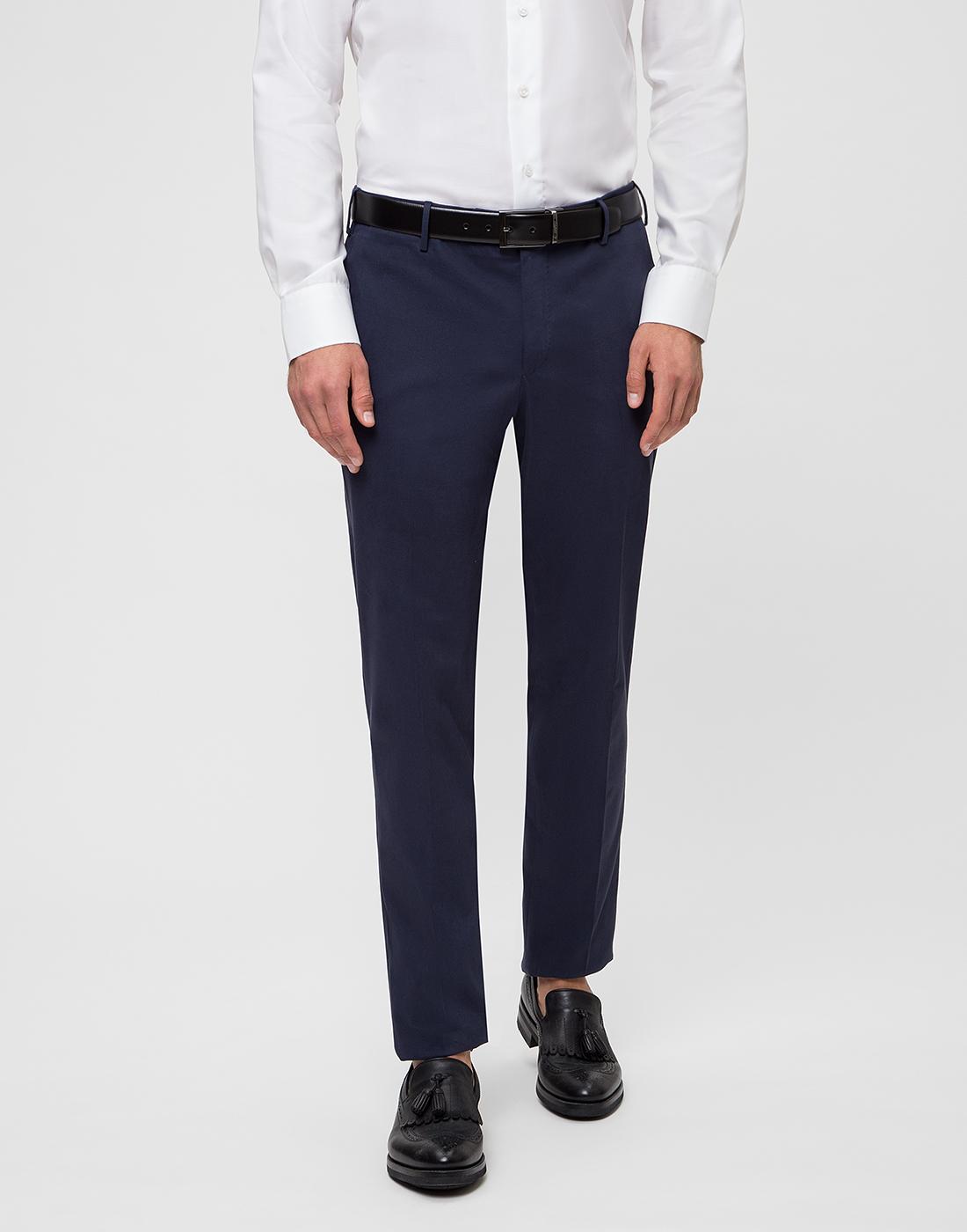 Мужские темно-синие брюки PT STU66 0360-2