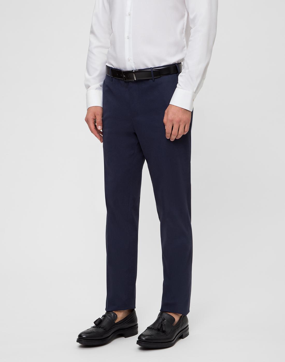 Мужские темно-синие брюки PT STU66 0360-3