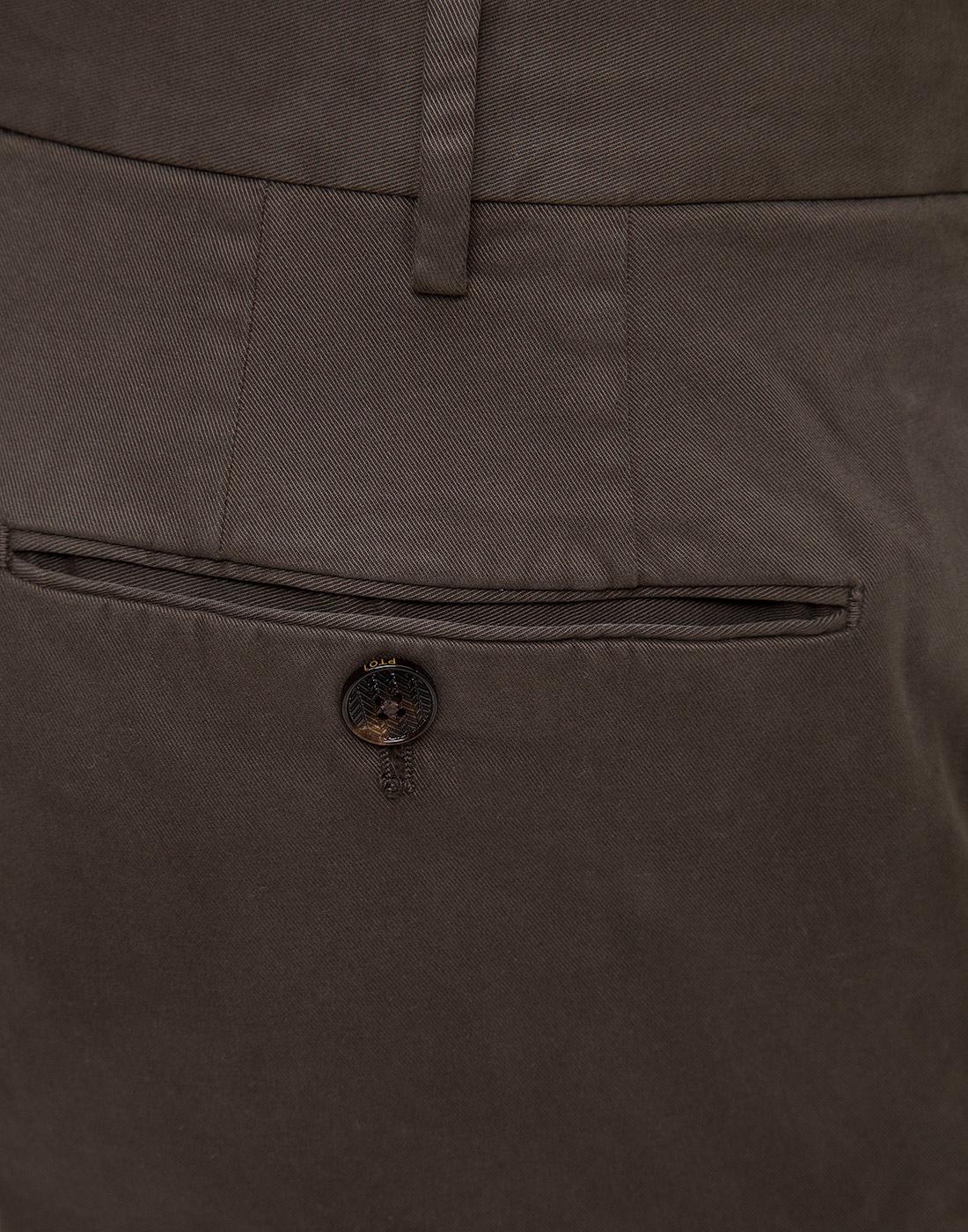 Мужские коричневые чиносы PT STT02 0180-6