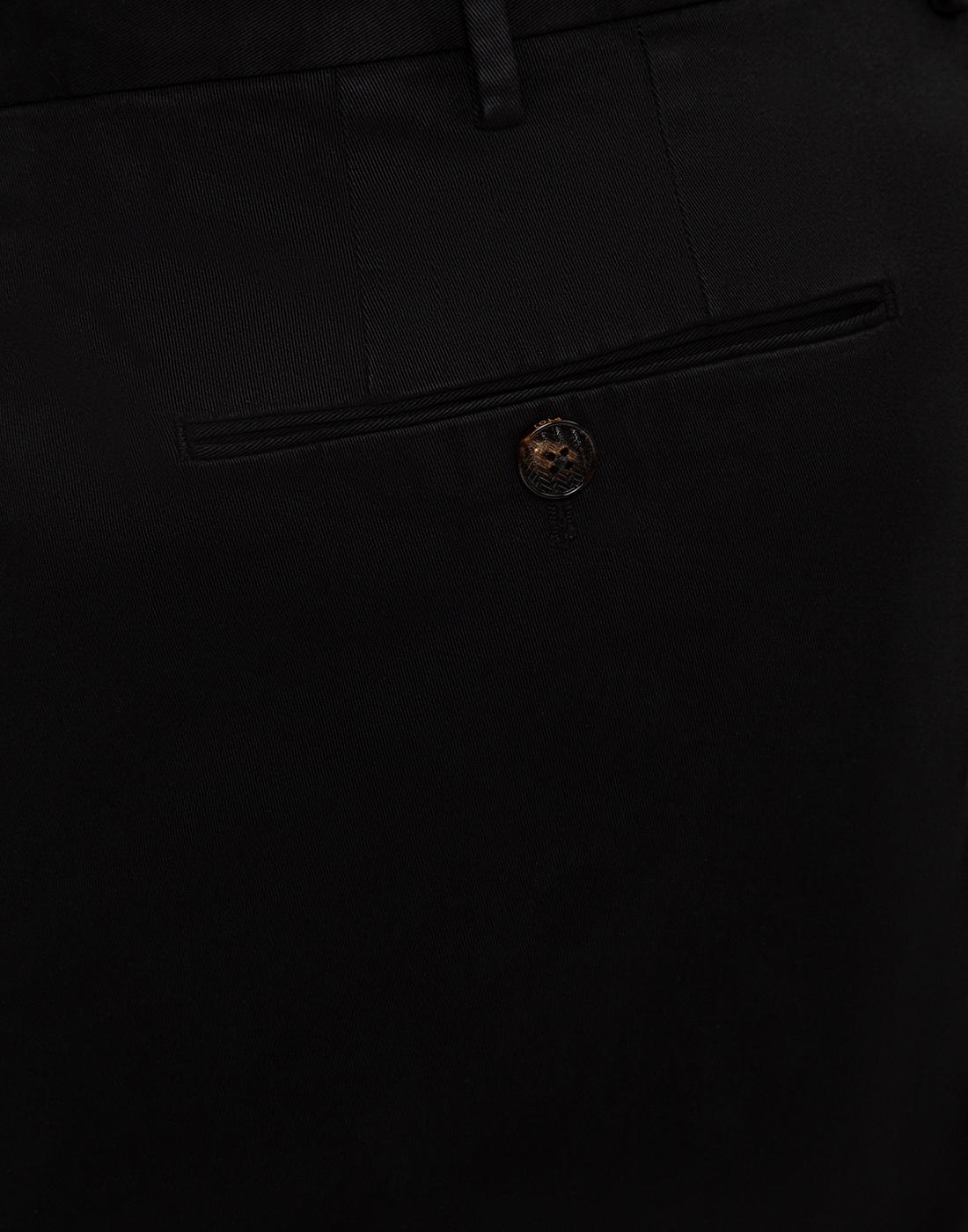 Мужские черные чиносы PT STT02 0990-6