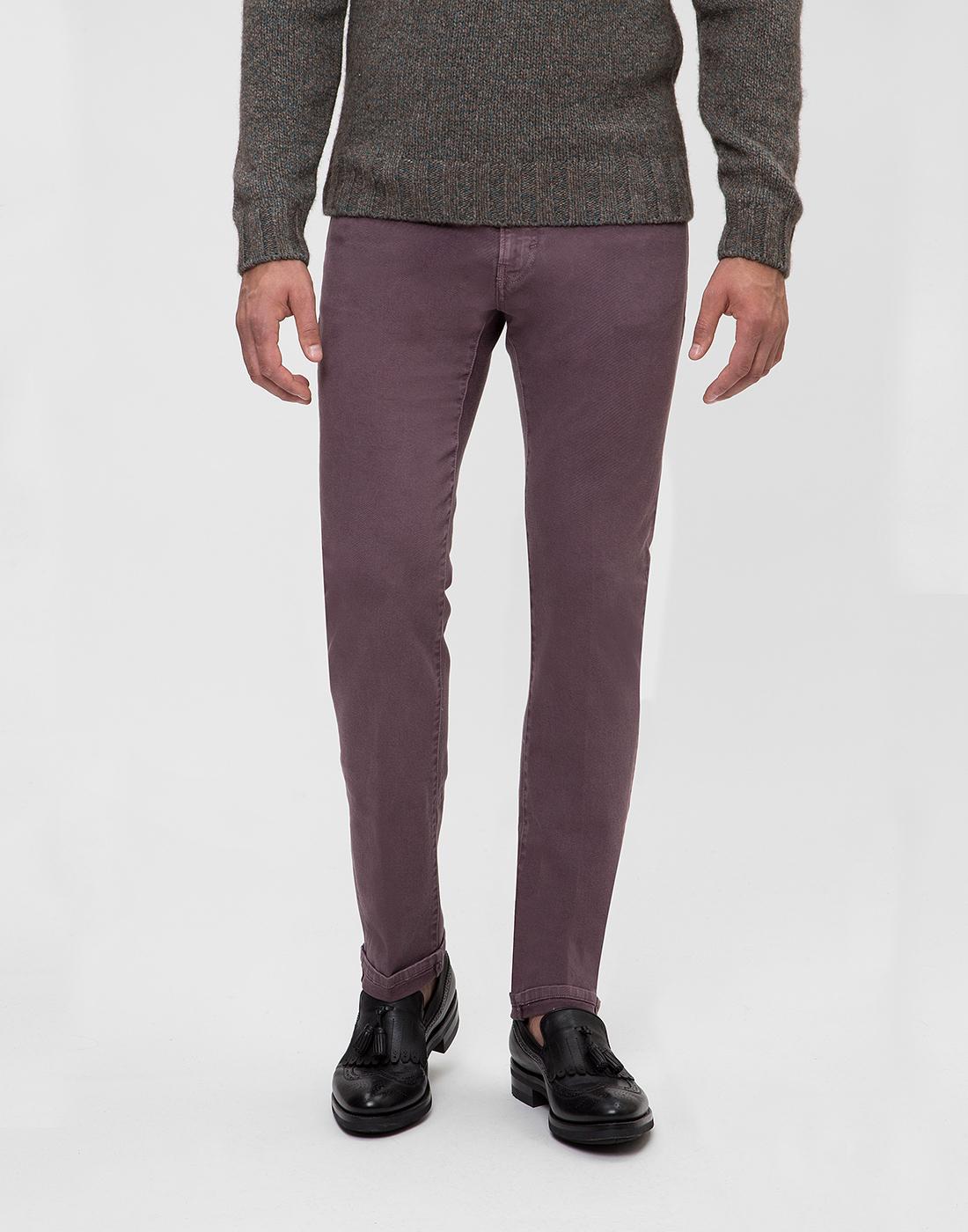 Мужские светло-фиолетовые джинсы PT SOA12 0786-2