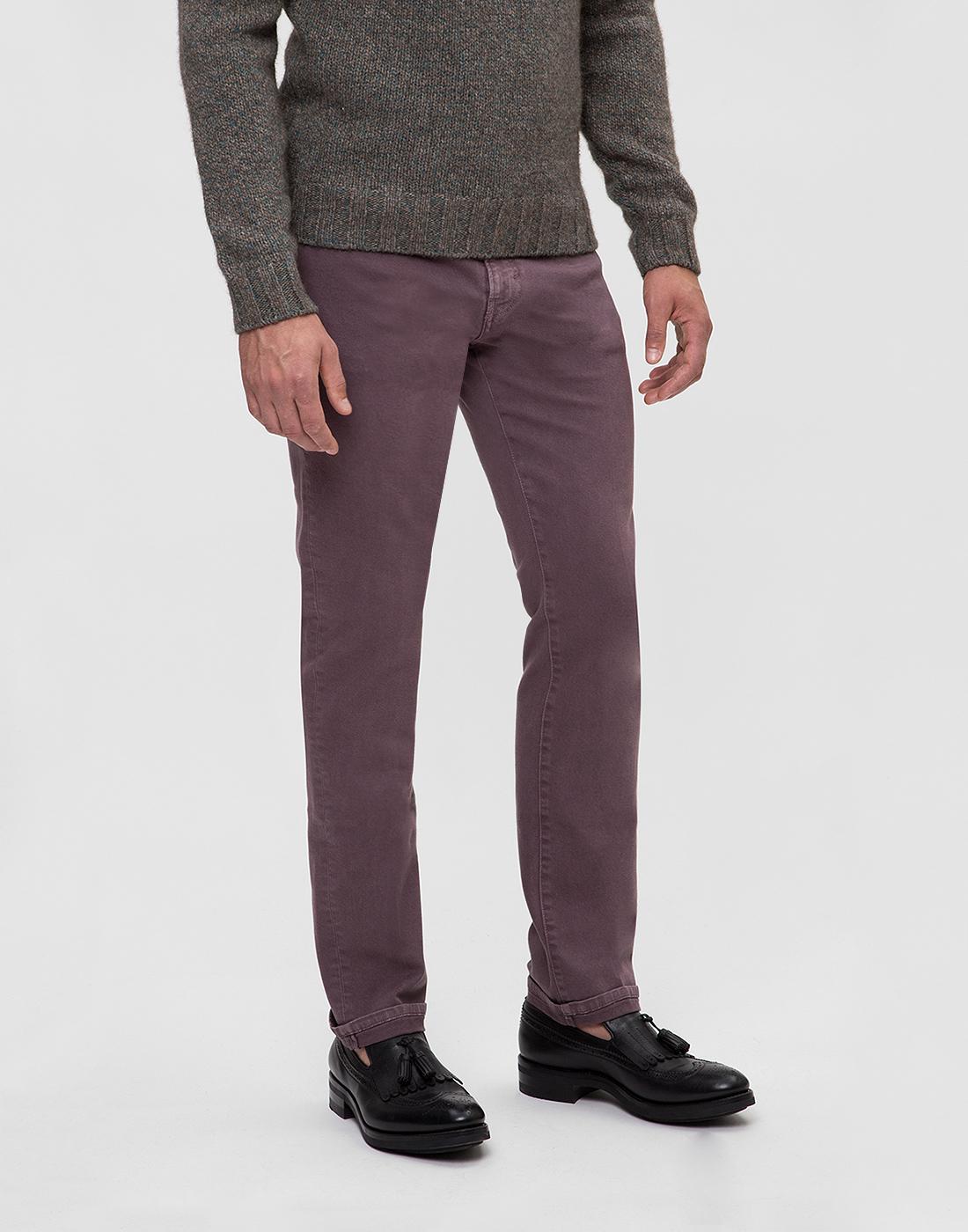 Мужские светло-фиолетовые джинсы PT SOA12 0786-3
